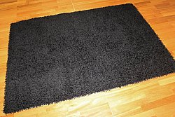 Shaggy rugs - Fancy (black)