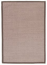 Rug 300 x 400 cm (sisal) - Santos (grey/brown)