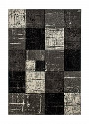 Wilton rug - London Square (black)