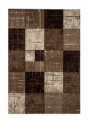 Wilton rug - London Square (chocolate)