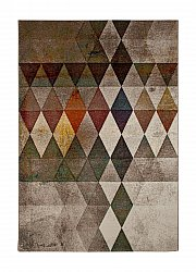 Rug 133 x 190 cm (wilton) - London Modern (multi)