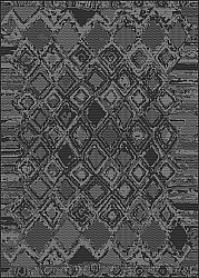 Wilton rug - Brussels Night (black)