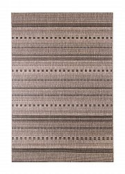 Wilton rug - Sisal Stripe (light beige/black)