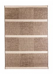 Rug 133 x 190 cm (wilton) - Sisal Square (light beige/white)