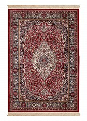 Wilton rug - Kashmir Medallion (red)