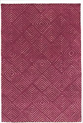 Rug 200 x 300 cm (wool) - Marseille (purple)
