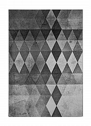 Rug 200 x 290 cm (wilton) - London Modern (grey/black)