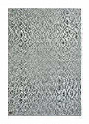 Wool rug - Goose Eye (grey)