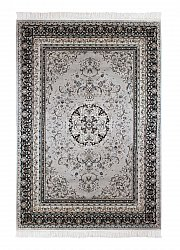 Rug 130 x 190 cm (wilton) - Casablanca Medallion (grey)