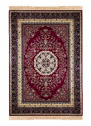 Rug 130 x 190 cm (wilton) - Casablanca Medallion (red)