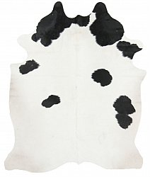 Cowhide - black and white 58