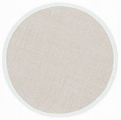 Round rug 120 cm - Salvador (sisal) (beige/light grey)