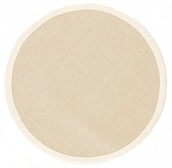 Round rug (sisal) - Salvador (light beige)