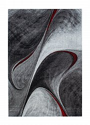 Rug 133 x 190 cm (wilton) - Brilliance Volante (red)
