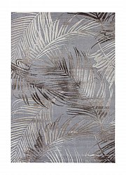 Rug 133 x 190 cm (wilton) - Thema Monstera (nougat)