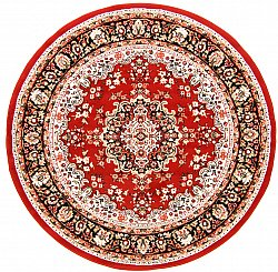 Round rug - Peking (red)