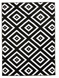 Wilton rug - Florence Preston (black)