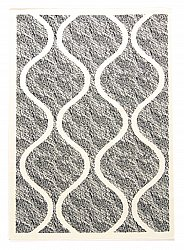 Wilton rug - Florence Wave (grey)