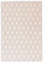 Wool rug - Emprint (white)