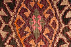 Kilim rug Turkish 390 x 150 cm
