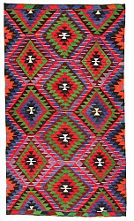 Kilim rug Turkish 314 x 165 cm