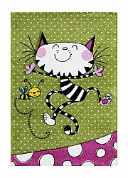 Childrens rugs - London Kitty (multi)