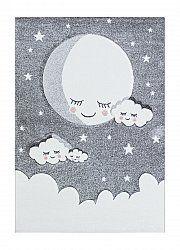 Childrens rugs - London Cloud (grey)