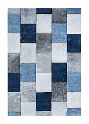Rug 133 x 190 cm (wilton) - London Mosaik (blue)