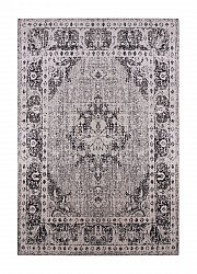 Wilton rug - Tibet Medallion (grey)