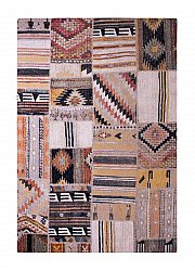 Rug 133 x 190 cm (wilton) - Tibet Patch (multi)