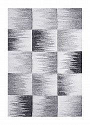 Rug 133 x 190 cm (wilton) - Atlas Square (grey)
