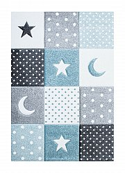 Childrens rugs - Atlas Star (turquoise)