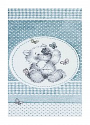 Childrens rugs - Atlas Teddybear (turquoise)