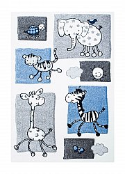 Childrens rugs - Indigo Kids (blue)