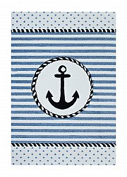 Childrens rugs - Indigo Ankare (blue)