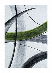 Wilton rug - Indigo Sketch (green)