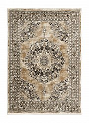 Wilton rug - Serenity Medallion (grey)