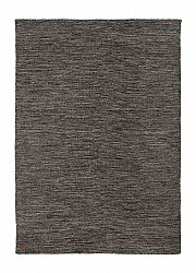 Wool rug - Birka (anthracite)