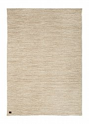 Rug 135 x 190 cm (ull) - Birka (light beige)