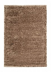 Shaggy rugs - Sapphire (brown)