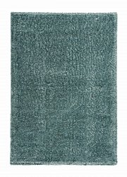 Rug 133 x 190 cm (shaggy rugs) - Sapphire (turquoise)
