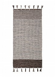 Rag rugs - Vinga (white/grey/black)