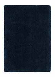 Rug 133 x 190 cm (shaggy rugs) - Soft dream (blue)