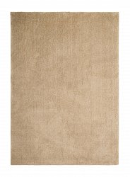 Rug 133 x 190 cm (shaggy rugs) - Soft dream (brown)