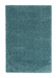 Rug 133 x 190 cm (shaggy rugs) - Soft dream (turquoise)