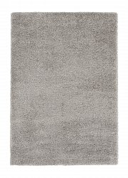 Rug 133 x 190 cm (shaggy rugs) - Soft dream (grey)