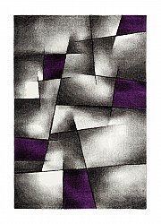 Wool rug - Lucara Trend (purple)