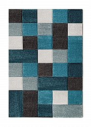 Wilton rug - London Mosaik (turquoise)