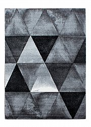 Wilton rug - Lucca (white/grey/black)