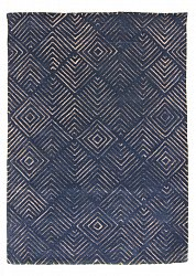 Wool rug - Marseille (blue)